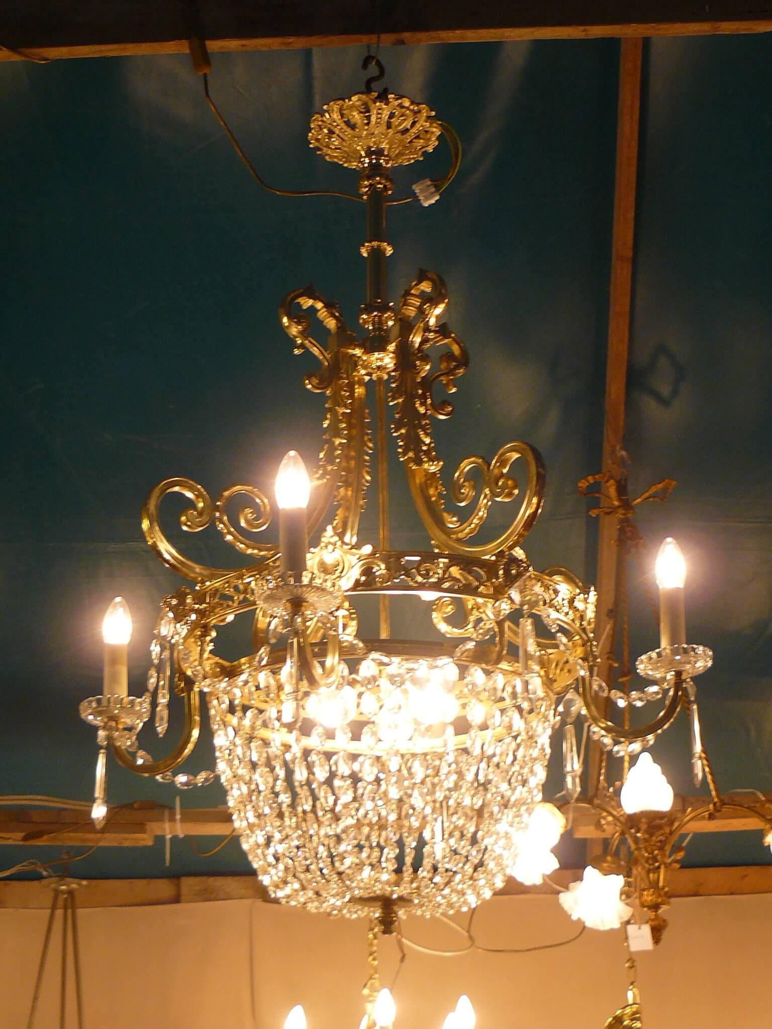 restaurer lustre cristaux gironde